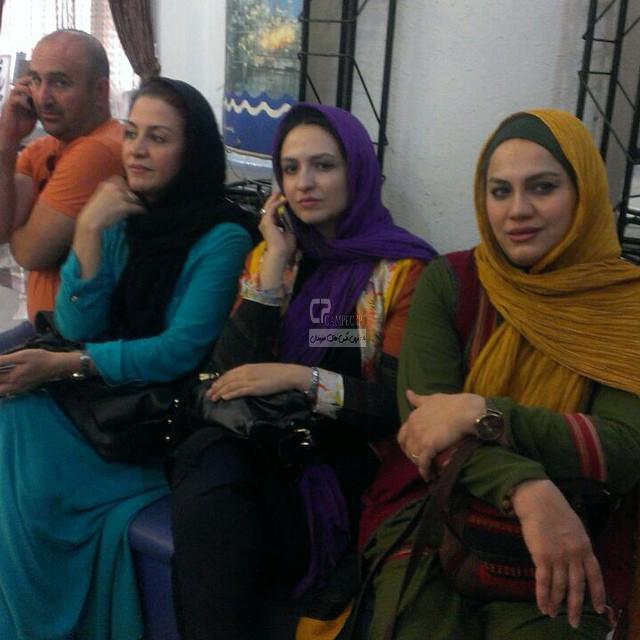 نرگس آبیار،گلاره عباسی،مریلا زارعی و مهران احمدی