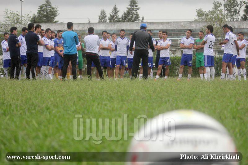 گزارش تصویری تمرین داماش گیلان