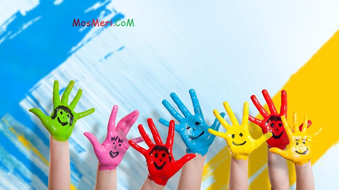 کودک و روان شناسی رنگ