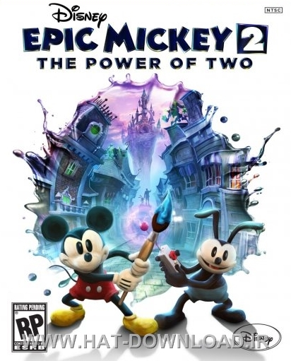 Epic Mickey 2 The Power of Two cover دانلود بازی Epic Mickey 2: The Power of Two برای PC