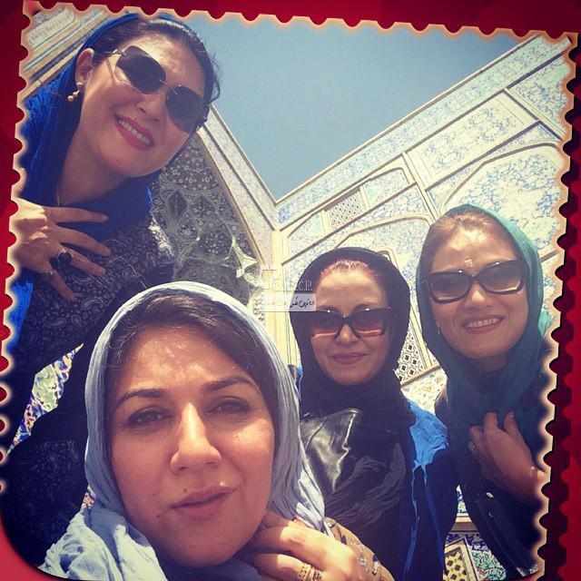 لاله اسکندری،مریلا زارعی،شبنم مقدمی و ستاره اسکندری در اصفهان
