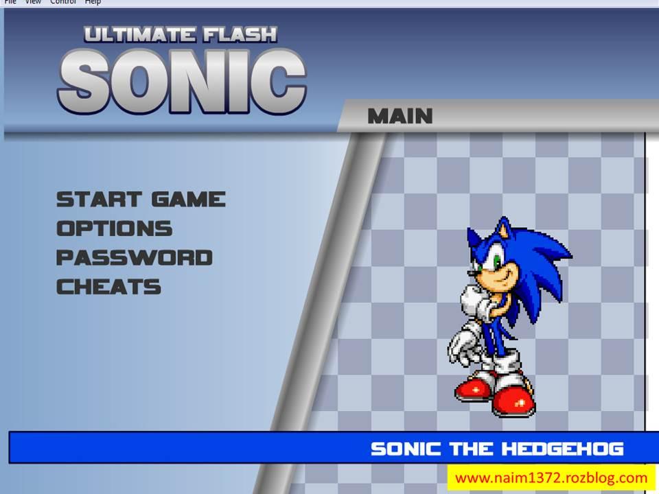 دانلود بازی Ultimate Flash Sonic