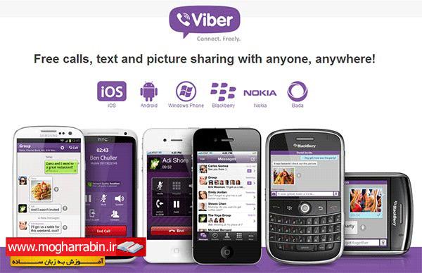 بهترین آموزش تصویری استفاده از نرم افزار وایبر Viber