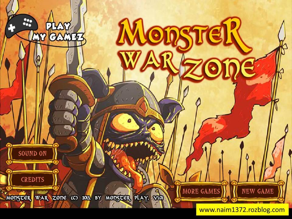 دانلود بازی Monster War Zone