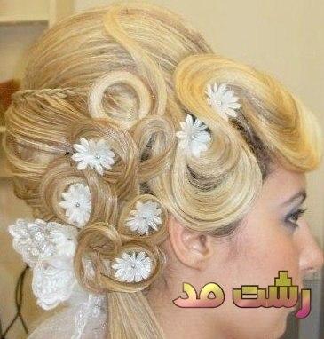 مدل جدید شینیون فانتزی حجمی مو زنانه دختران عروس