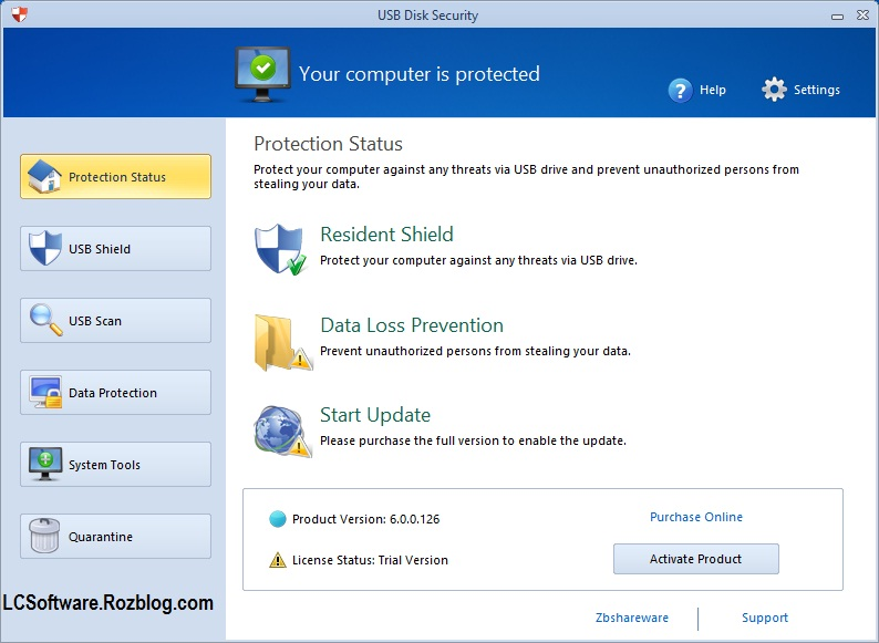 جلوگیری از نفوذ ویروس های حافظه های USB با نرم افزار USB Disk Security