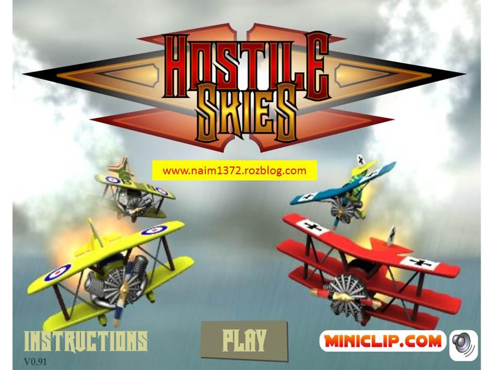 دانلود بازی hostile skies