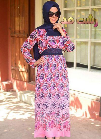 جدیدترین مدل لباس شب بلند دخترانه زنانه پوشیده ترکیه ای 2014