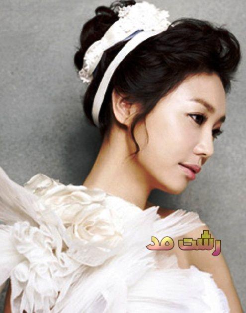 انواع مختلف مدل مو عروس کره ای 2015