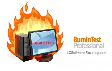 تست سخت افزار و نمایش مشکلات قطعات سیستم  با نرم افزار  BurnInTest Professional v6