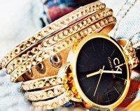 ساعت مچی طلایی زنانه ارزان
