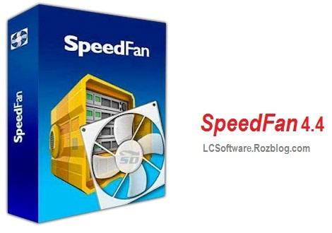 کنترل سرعت فن کامپیوتر  با نرم افزار SpeedFan 4.4
