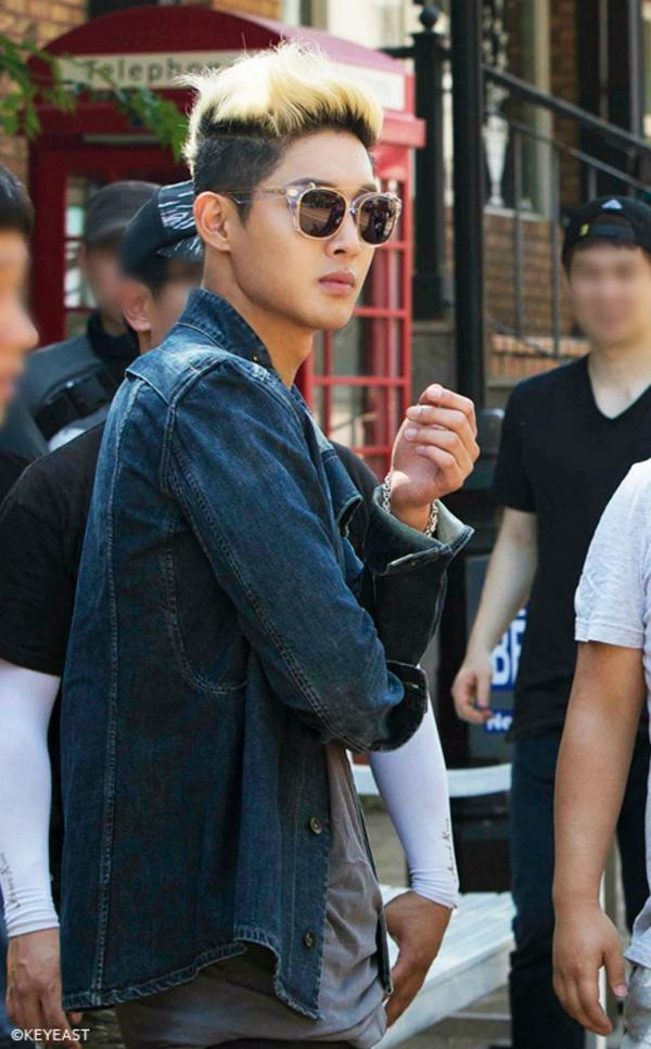 Kim Hyun Joong - Japanese Mobile Site Update -10.10.14