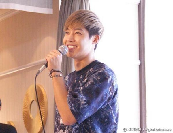 Kim Hyun Joong - Update The Official Site Henecia Japan  - 07.10.14
