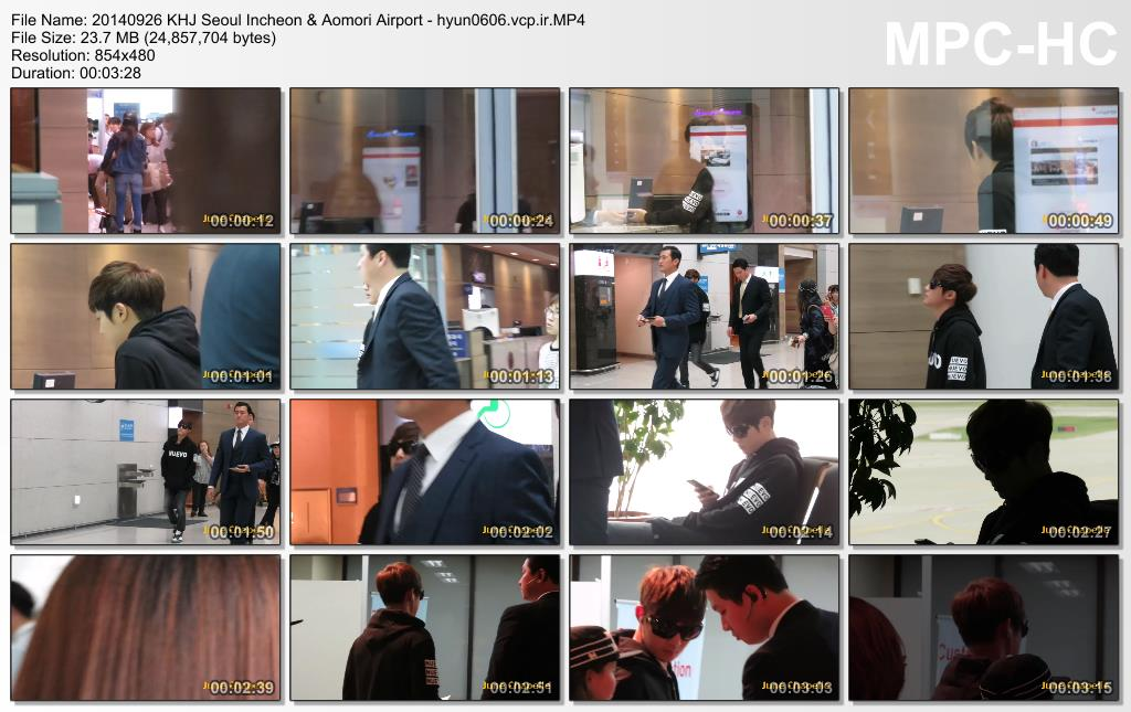 [Fancams - June Chapelle] Kim Hyun Joong SK – Jpn Airports [2014.09.26 & 29]