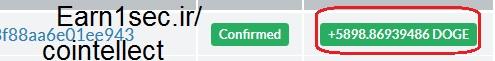 سند برداشت یورویی از سایت cointellect