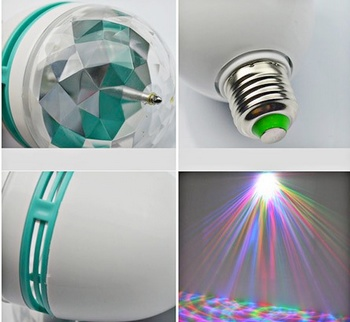 خرید پستی لامپ رقص نور هفت رنگ مدل 2014
