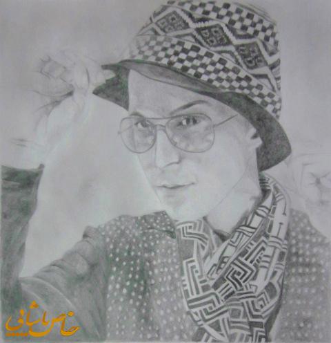 عکسهای مرتضی پاشایی طراحی شده با مداد