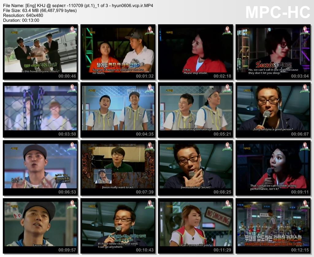 [ENG] SS501 Kim Hyun Joong @ ѕє¢яєт - pt.1 [11.07.09]