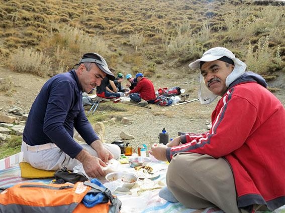 کوهنوردی دیواندره،نه که روز