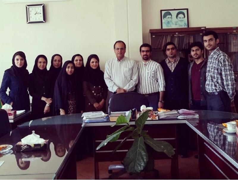 جلسه دانشجویان المپیادی با  معاون اموزشی دانشگاه علوم پزشکی