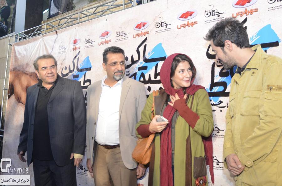 شهاب حسینی و طناز طباطبایی در مراسم افتتاحیه فیلم سینمایی ساکن طبقه وسط