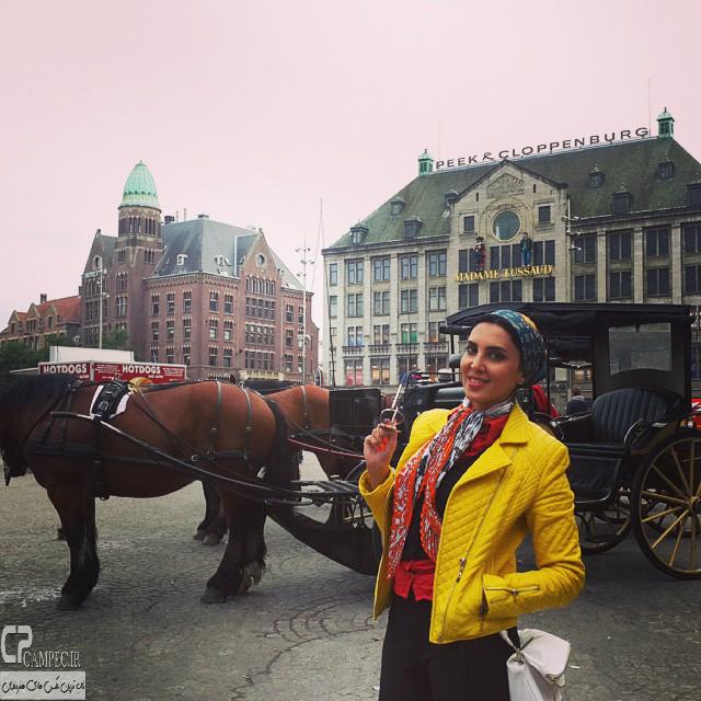 عکس های جدید لیلا بلوکات در خارج از کشور