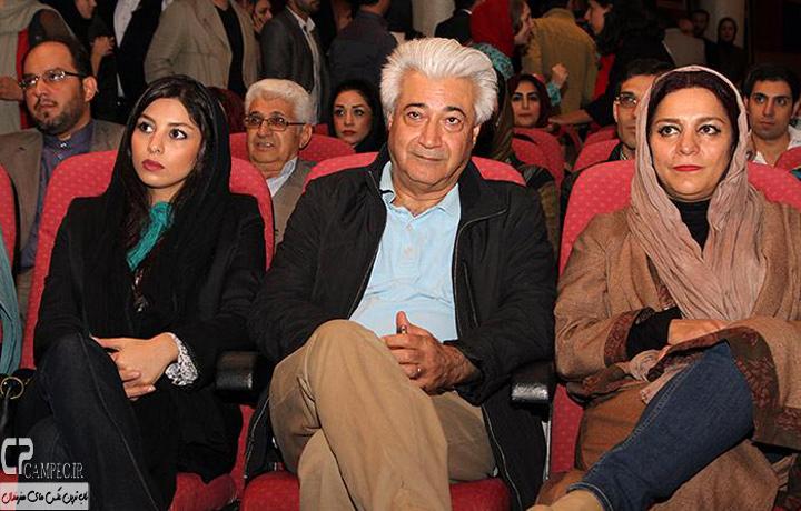 تهمینه میلانی و همسرش و فتانه ملک محمدی