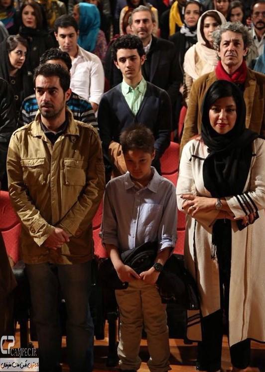 شهاب حسینی و خانواده اش