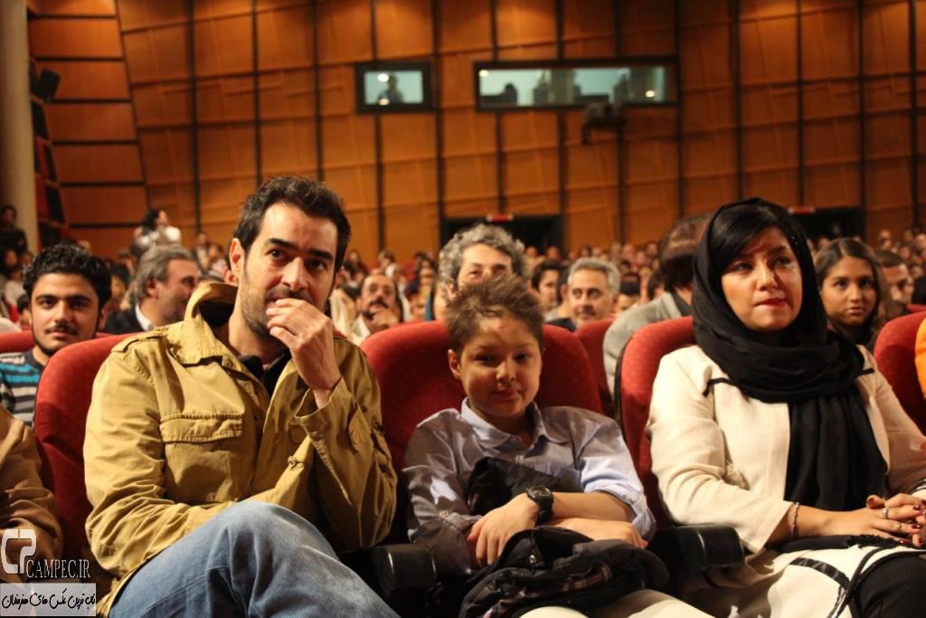 شهاب حسینی و همسر و پسرش