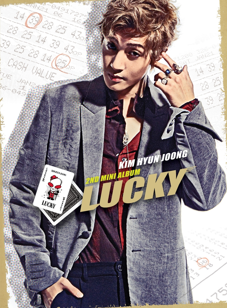 Mini Album_Kim Hyun Joong – Lucky