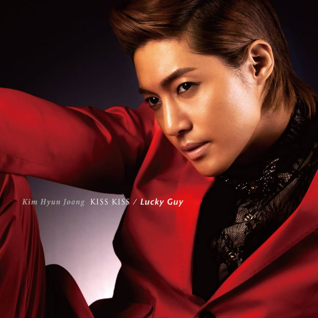 [Single] Kim Hyun Joong – KISS KISS - Lucky Guy [Japanese]