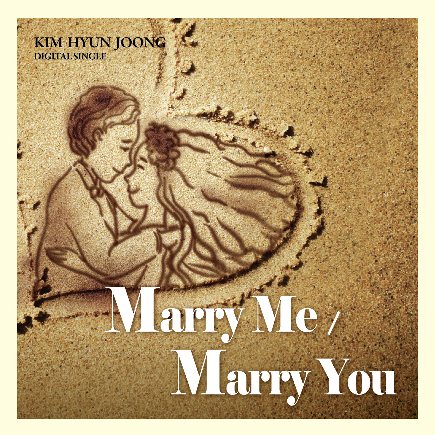 Single_Kim Hyun Joong – Marry Me - Marry You