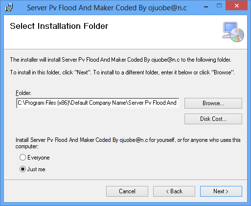 Server Pv Flood And Maker Best Server  Coded By ojuobe@n.c  2014_10_15_094527