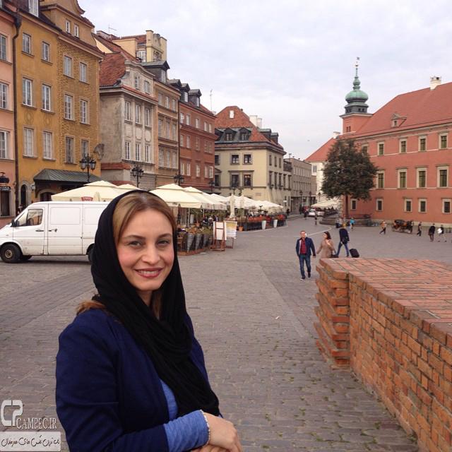 مریم کاویانی در ورشو لهستان