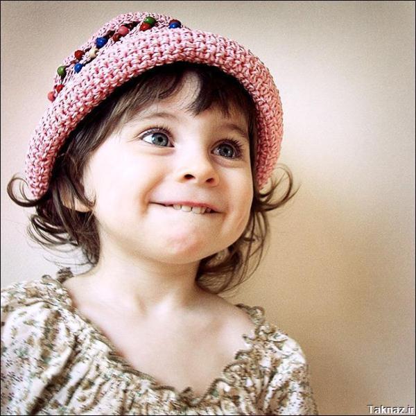 دختربچه خوشگل و شیرین و دخمل