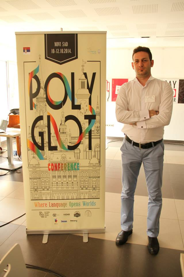 محمدرضا شکرگزار+نووی ساد+صربستان+پلی گلات+کنفرانس