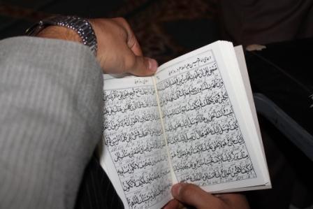 برگزاری دعای پرفیض عرفه در جوار حرم شهدای گمنام دانشگاه به روایت تصویر