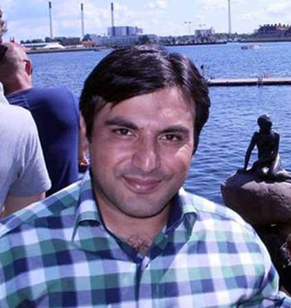 دکتر علیرضا ایمانپور قاضی جهانی  نفر برتر آزمون سراسری دکترای تربیت بدنی در سال 92
