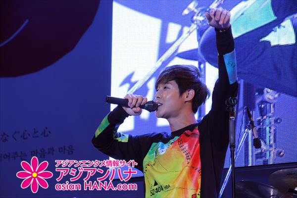 [Media Photos - asian HANA] Kim Hyun Joong Japan – South Korea Exchange Festival 2014 at Hibiya Park, Tokyo [2014.09.28]