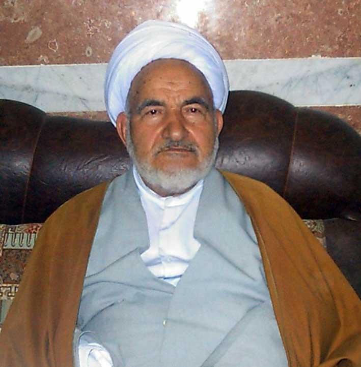 حجت الاسلام والمسلمین حاج میرزاعلی صالحی فعال دینی و مذهبی شهرستان آذرشهر