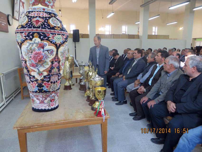 اولین همایش فرهنگی و ورزشی  شهرستان آذرشهر در قاضی جهان