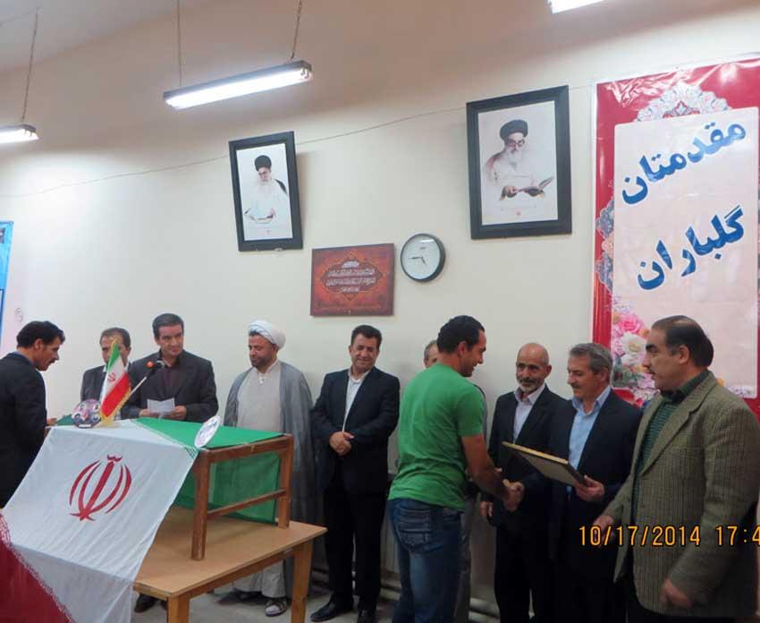 آقای حسین آقامحمدزاده قاضی جهانی  فوتبالیست برتر