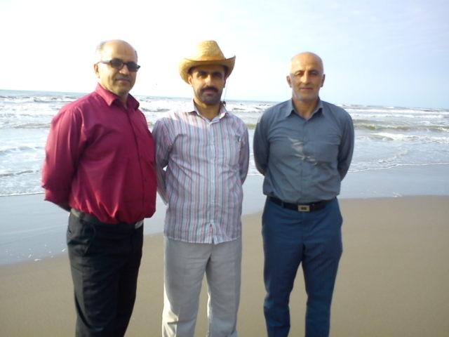 از راست: ش .غلامی، و. رمضانی ، ا. آقاجانی
