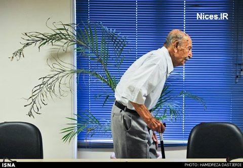 مرتضی احمدی در بستر بیماری