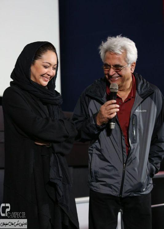 نیکی کریمی در مراسم اکران خصوصی فیلم یک شب