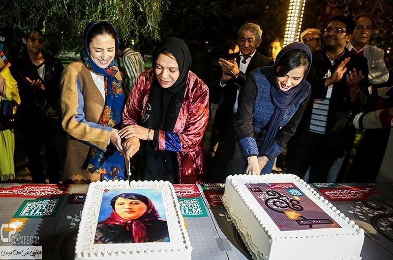 نگار جواهریان در افتتاح جشنواره فیلم پروین اعتصامی