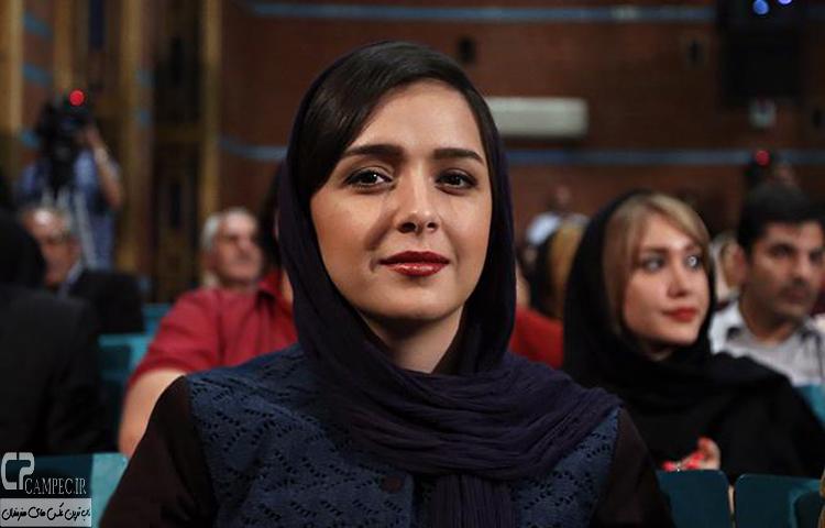 ترانه علیدوستی در افتتاح جشنواره فیلم پروین اعتصامی