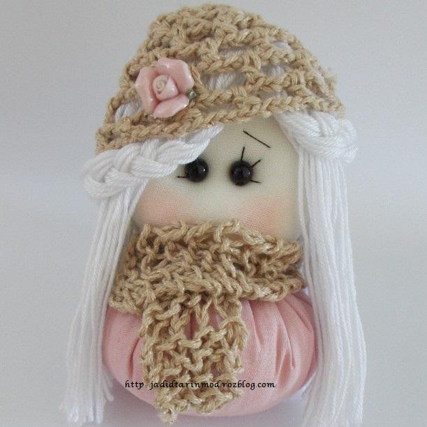 عروسک کنفی ولنتاین ععروسک گونی | سایت عکس mimplus.ir