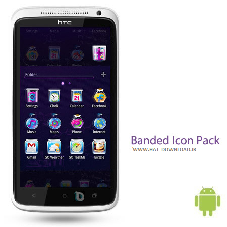 Banded Icon Pack v1.1.4 پک آیکون Banded Icon Pack v1.1.4 – اندروید